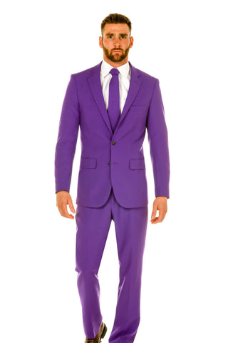 Men's Purple Mardi Gras Suit by Shinesty