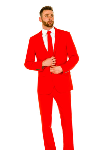 Men's Red Suit by Shinesty