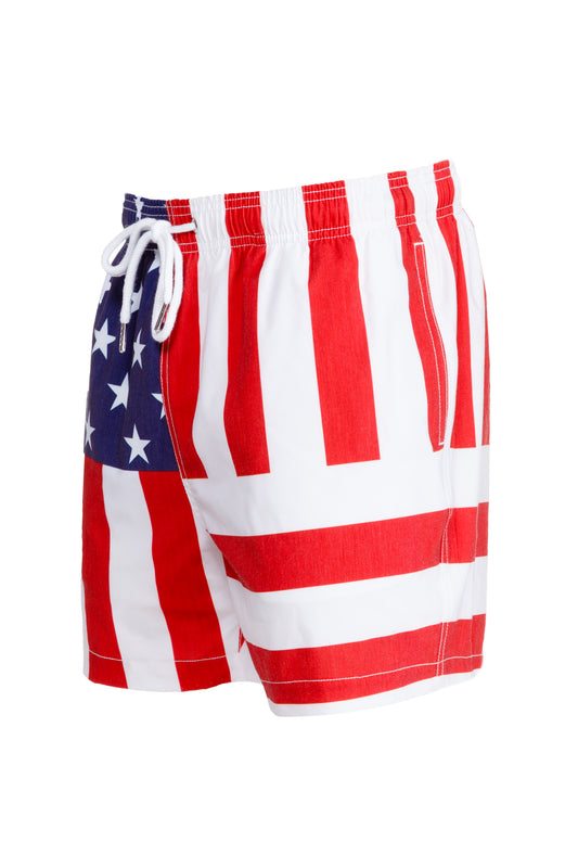 USA swim trunks