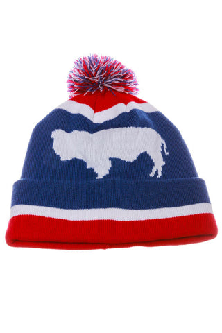 Bison Roaming Wyoming Beanie - Shinesty