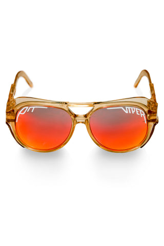 Vintage Brown Pit Viper Glacier Sunglasses