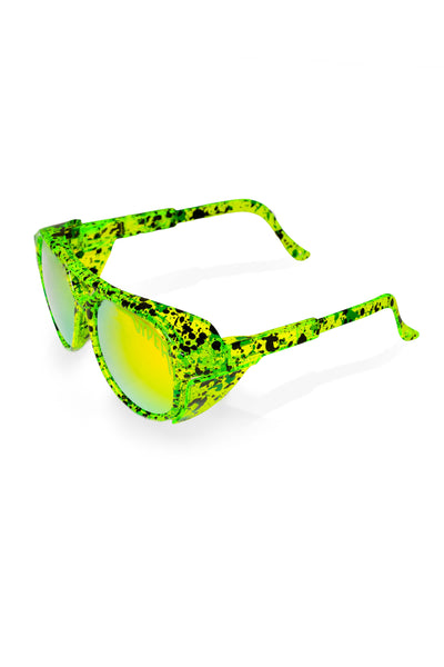 Tijuana Neon Green Pit Viper Exciter Sunglasses