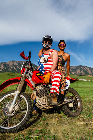 881f46c3 The Most Patriotic American Flag Clothing & USA Outfits on Earth