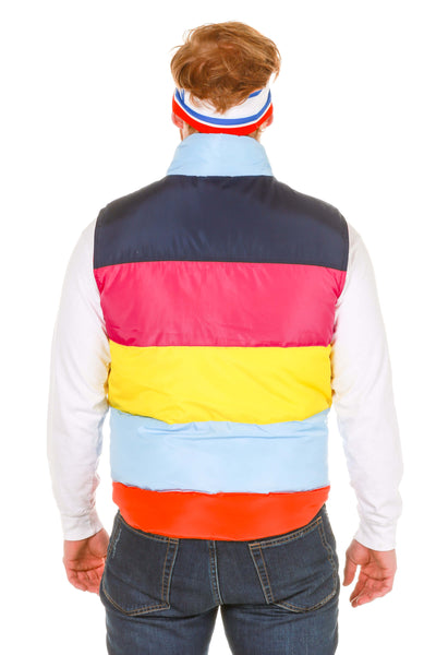 The Powder Day Puffy Rainbow Ski Vest