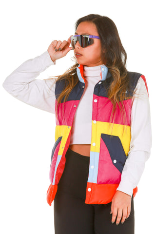 The 77 Ladies Multicolored Vest