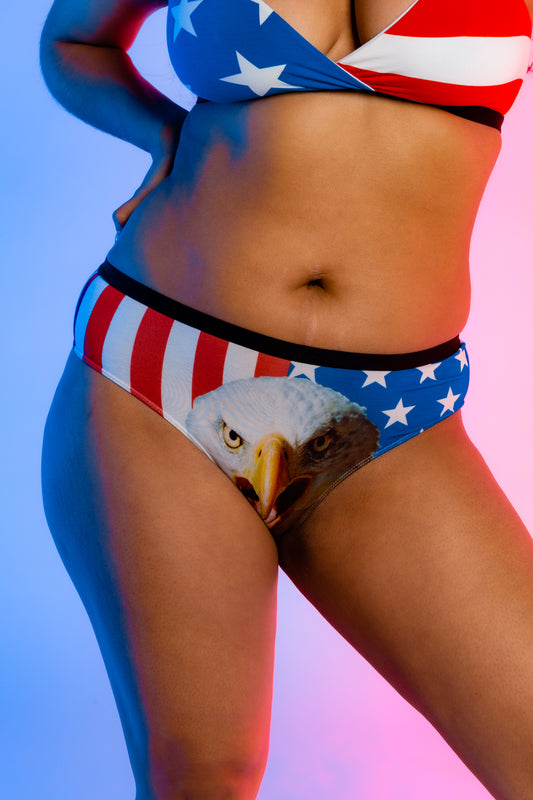 Women's mascot USA underwear