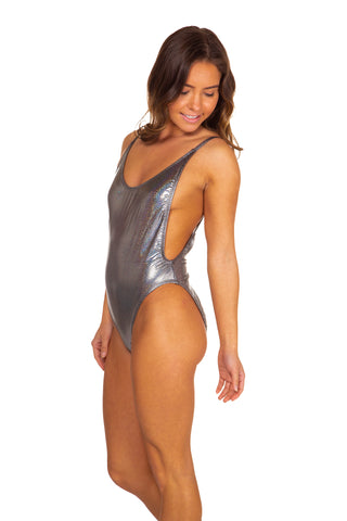silver dippin daisy's one-piece swimsuit