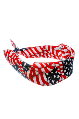 """The Jeffersonian"" American Flag Bandana - Shinesty"