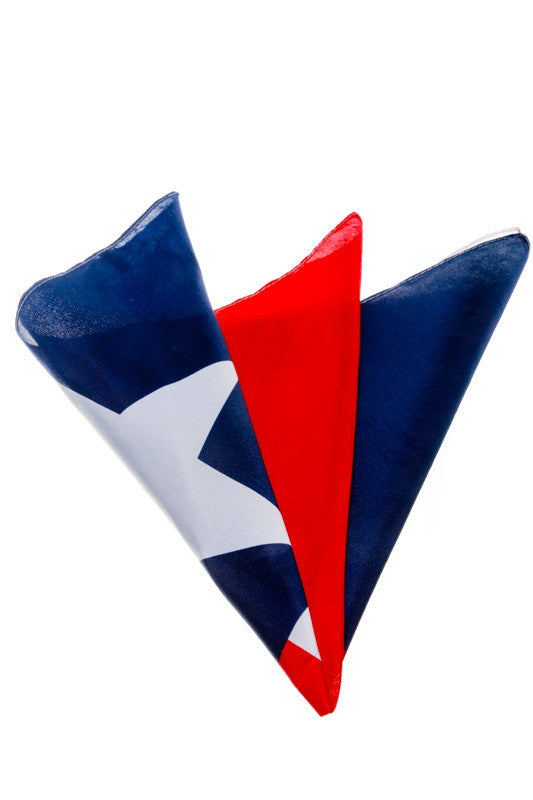 Tejas Means Texas, Numb Nuts Texas Flag Bandana