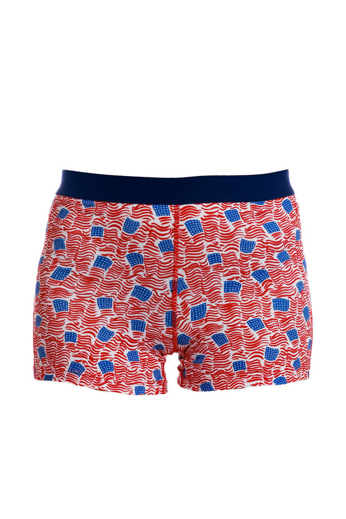 SBOTUS American Flag Compression Shorts - Shinesty