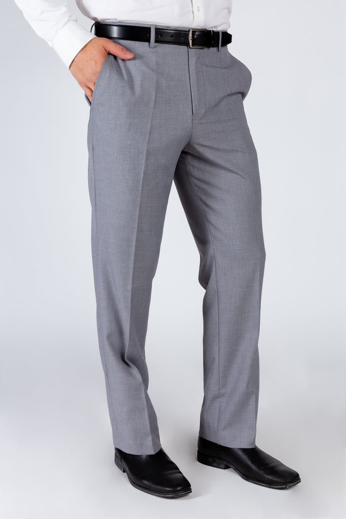 The We Mean Business | Light Grey Madison Suit Pants