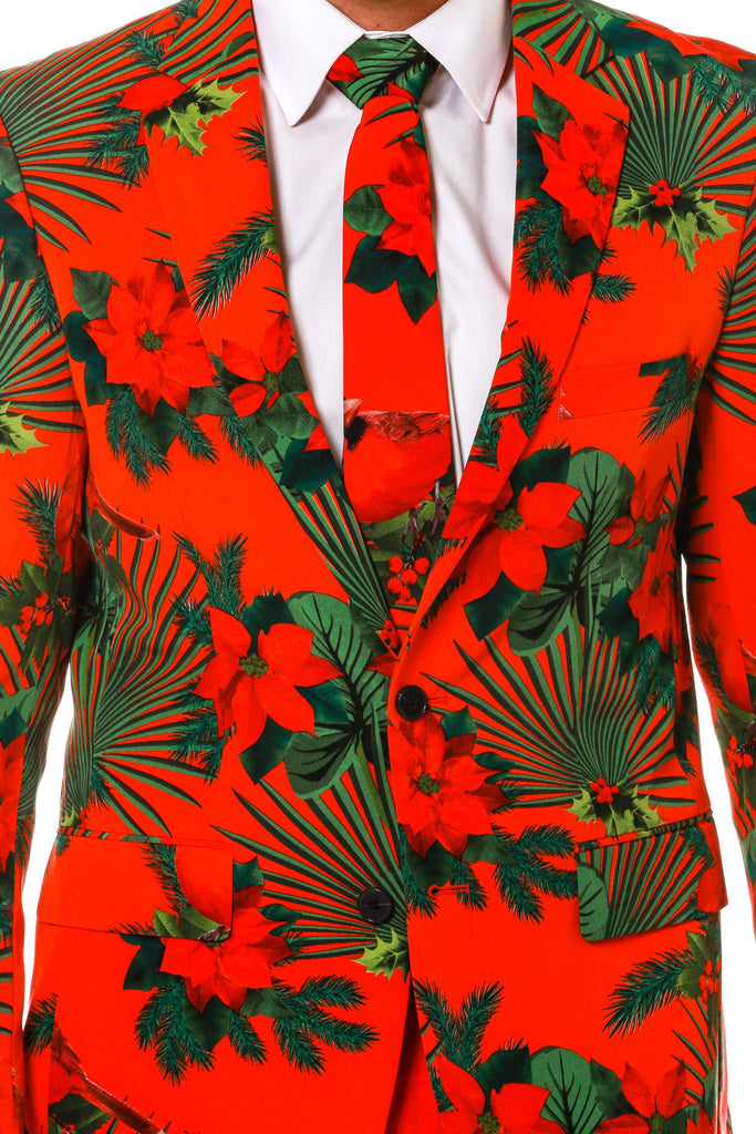 cardinal Hawaiian suit for men