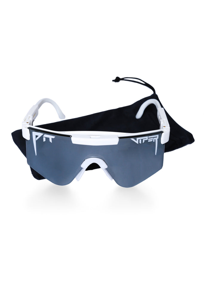 65b4c8b996a Men s white mirror pit viper sunglasses