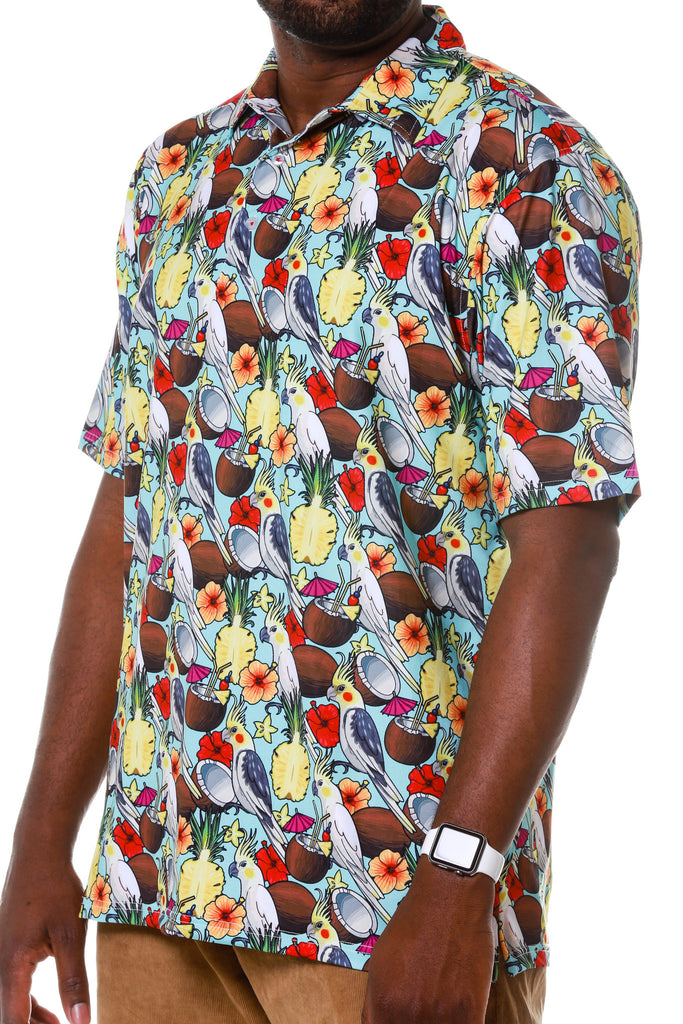 THE COMEBACK HAWAIIAN POLO BY ROADIES cf2af4b71