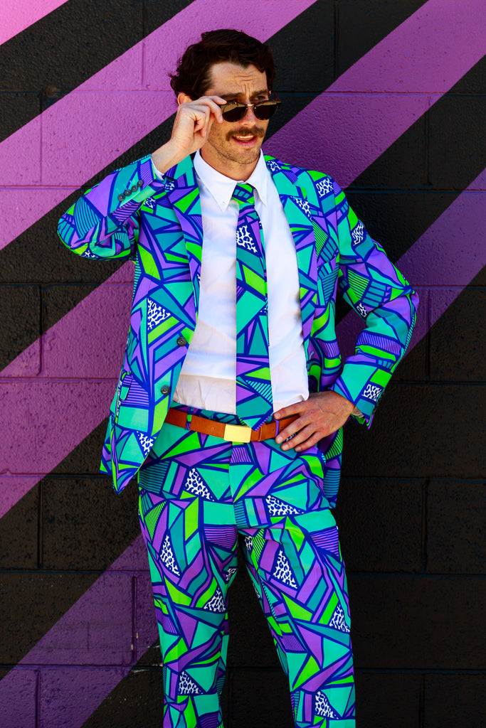 Neon Rave Suit for Men