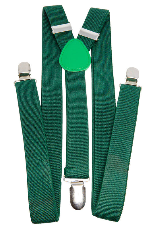 New Green Suspenders - Shinesty
