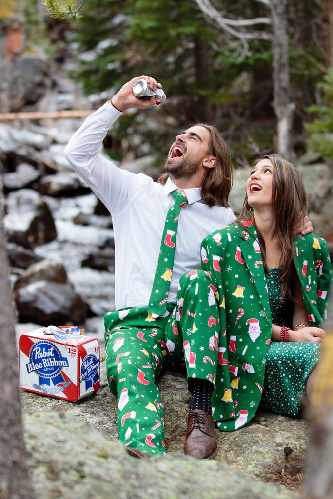Pre-Order - The Don Juan Ugly Christmas Sweater Suit by Opposuits
