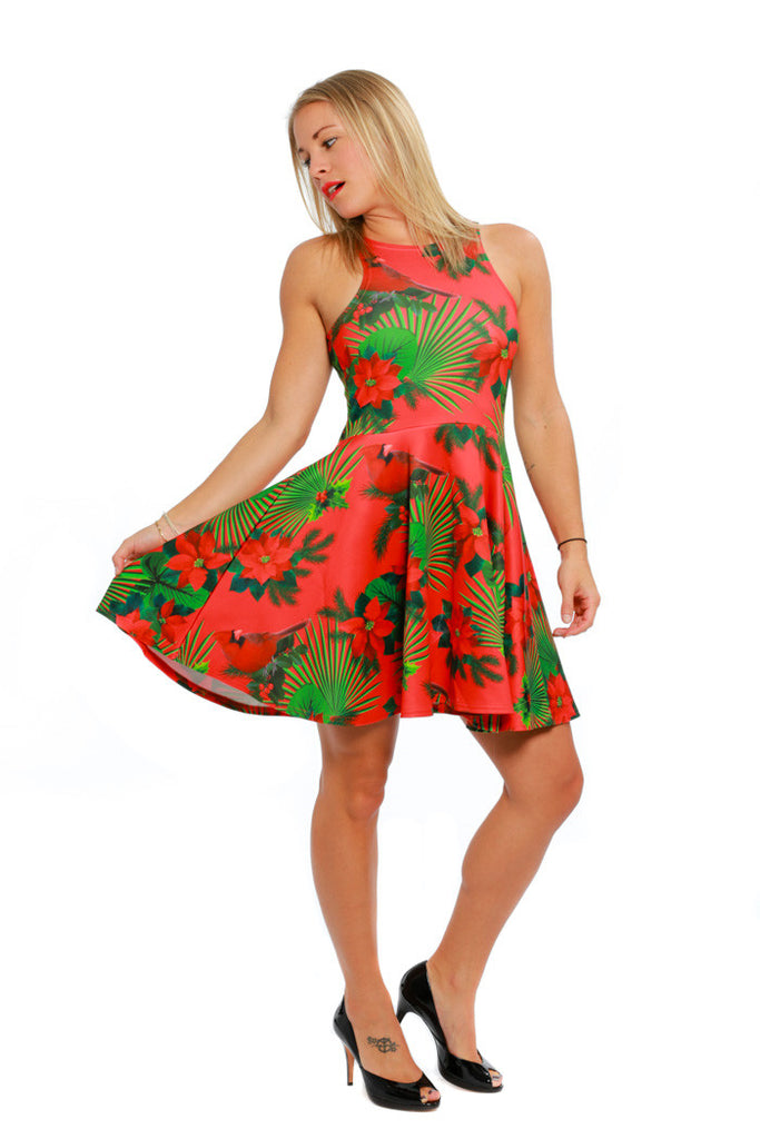 The Cardinal Hawaiian Print Dress