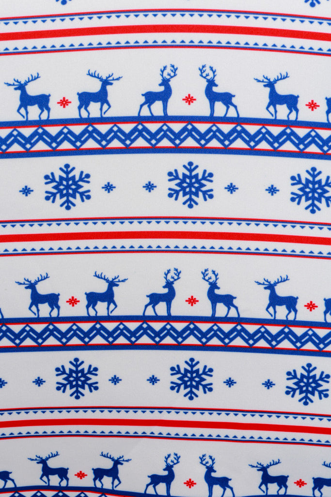 Pre-Order - Reindeer to My Heart Fair Isle Ugly Christmas Dress - Delivery by November 2016 - Shinesty