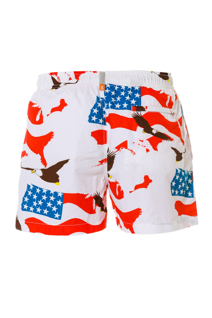 The Sixth Graders First Design USA Swim Trunks