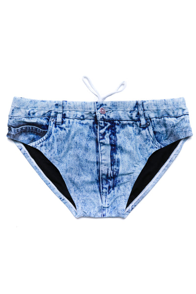 f3ec62ae5c The Assid Washers Faux-Denim Swim Brief | Pre-Order | Delivery September  2019