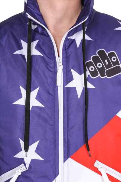 7f344044cd The JFK American Flag Ski Jacket