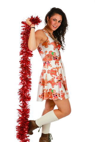 Gingerpersons Rule Ugly Christmas Dress - Shinesty