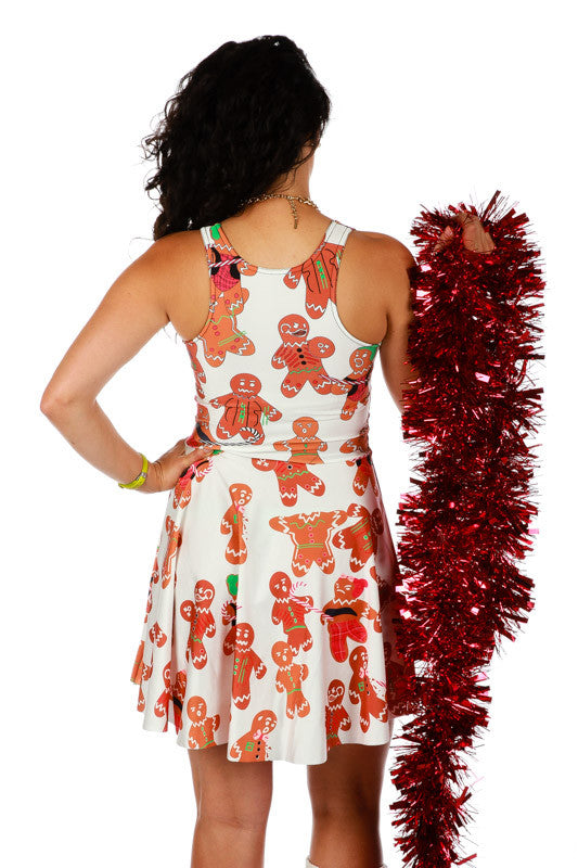 Gingerpersons Rule Ugly Christmas Dress