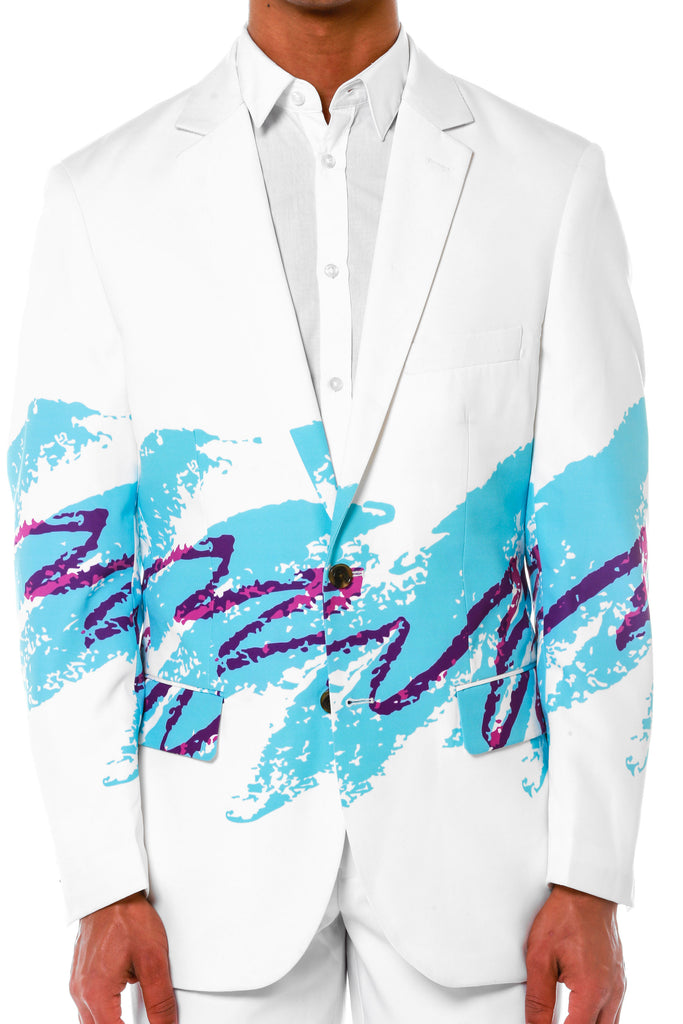 The Jazz Print Blazer