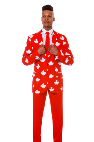 The Canada Flag Maple Leaf Blazer