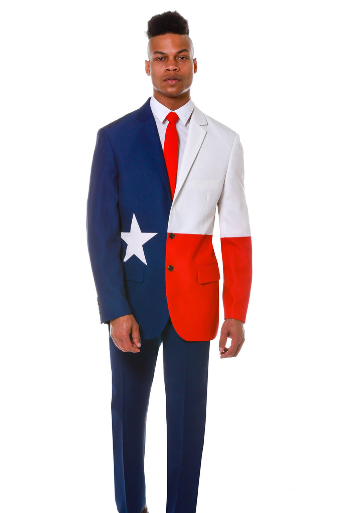 The Lone Star State | Texas Flag Blazer