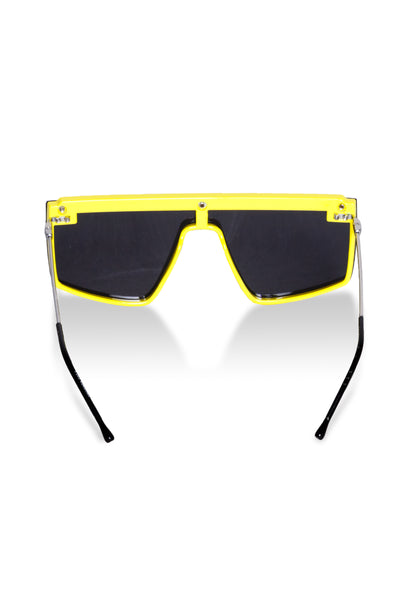Yellow and Black Snooki Sunglasses