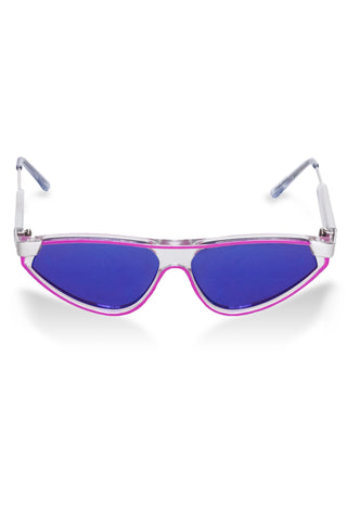 spitfire purple mirrored sunglasses