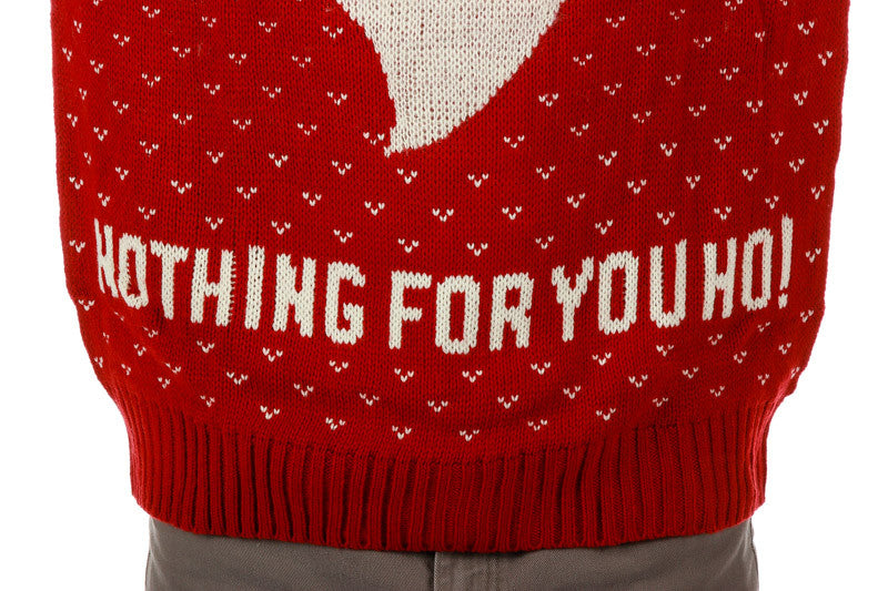 O.G. Santa Nothing For You Ho Ugly Christmas Sweater