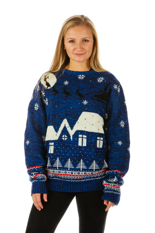 The Midnight Menage Ugly Christmas Sweater - Shinesty