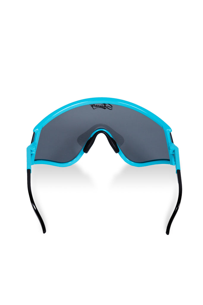 15007c405ce Teal   Black Smoke 80s Ski Sunglasses