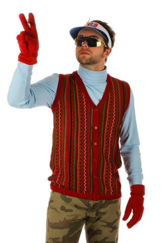 The Notorious B.I.G. Ugly Christmas Sweater Vest - Shinesty