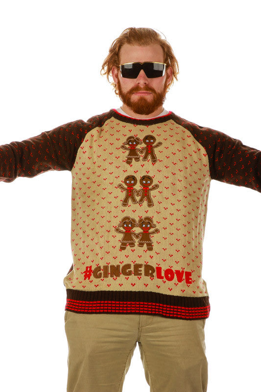 Ginger Bells Ugly Christmas Sweater