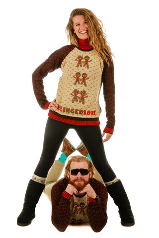Ginger Bells Ugly Christmas Sweater - Shinesty