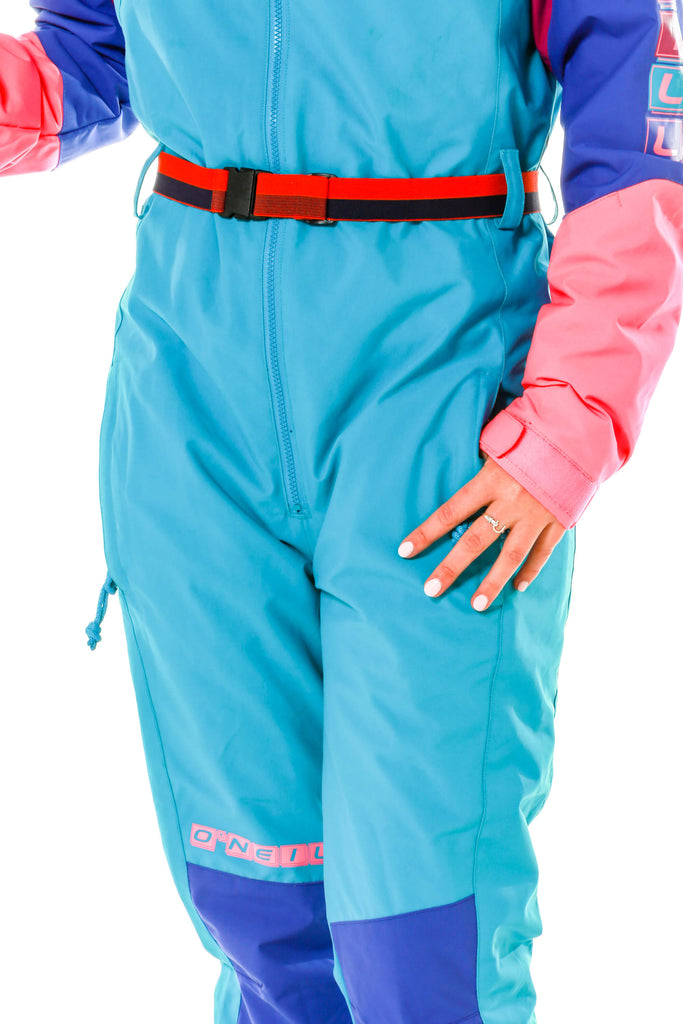 Ladies 80s ski suit