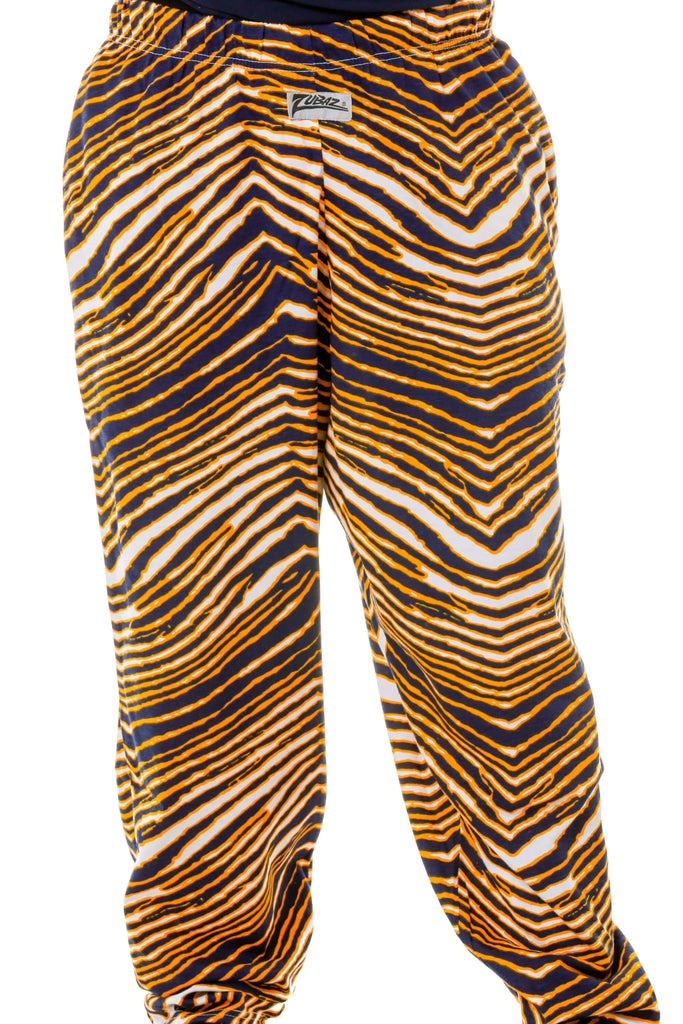Back of The GO BLUE Michigan Game Day Hammer Pants by Zubaz