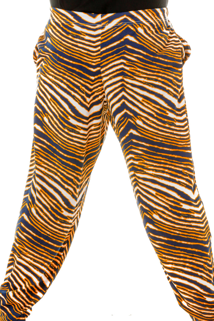 Front of the GO BLUE Michigan Game Day Hammer Pants by Zubaz