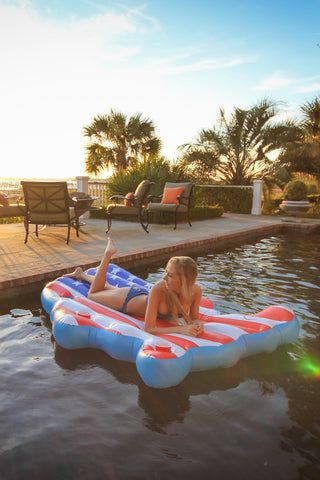 The American Flag Pool Float for Adults Only