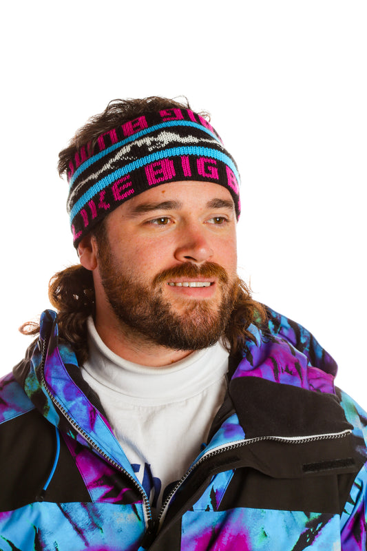 Men's Neon Colored Ski Headband
