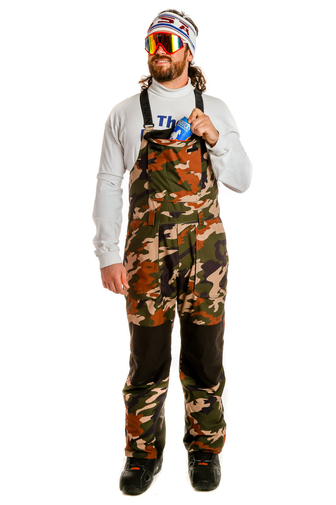 The Floating Mullet | O'Neill Men's Camo Ski Bib