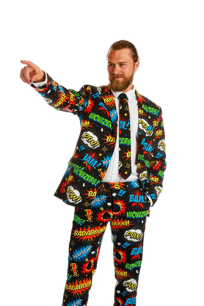 An Ode To Comic-Con Dress Suit by Opposuits