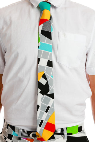 Bahamian New Years Celebration Tie - Shinesty