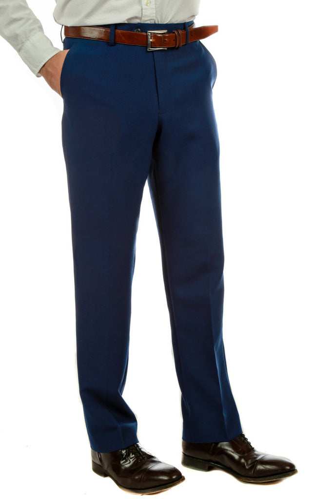 Navy Suit Pants