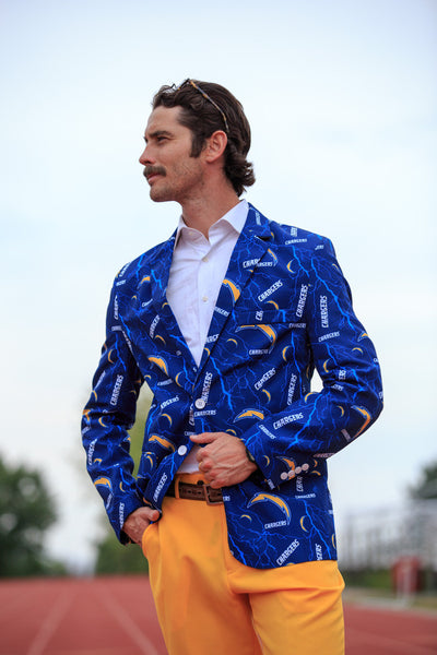The San Diego Chargers Suit Jacket - Shinesty