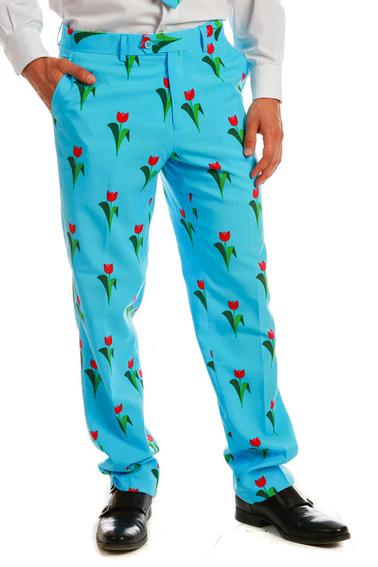 The Derby Tulips Pants - Shinesty